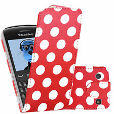 PU Leather Executive Vertical Flip Wallet Case Cover For BlackBerry 9360 Curve