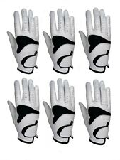 ***New***  (6)  Mens All Cabretta Leather Golf Gloves (Right Hand)