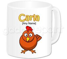 Personalised Gift Funny Chicken Coffee Tea 11oz Mug Any Name Any Message Cup