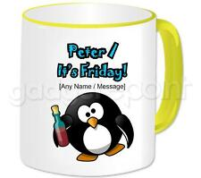 Personalised Gift Red Wine Penguin Coffee Tea 11oz Mug It's Really Wine Cup