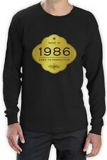 Made In 1986 - Aged to Perfection 30th Birthday Gift Long Sleeve T-Shirt Golden