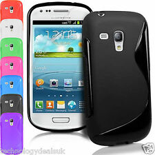 S-Line Wave TPU Case Silicone Gel Skin Cover For Samsung Galaxy S3 Mini i8190