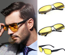 New Brand Mens Polarized Car Driving Sunglasses Night Vision Eyewear Glasses