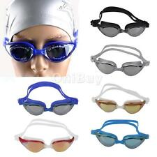 Adult Youth PRO Waterproof Anti-Fog UV Protection Swim Glasses Swimming Goggles