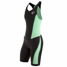 PEARL IZUMI SELECT PURSUIT WOMENS TRI SUIT BLACK/AQUA MINT 2016