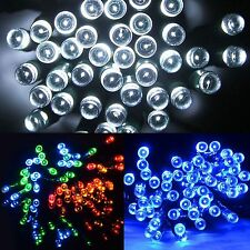 CHASING LED LIGHTS STRING WITH TIMER INDOOR / OUTDOOR CHRISTMAS