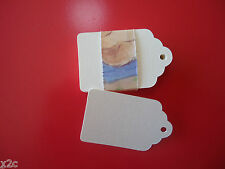Kraft Ivory Gift Swing Tags Small Wedding Favour Party Bomboniere Craft Shop