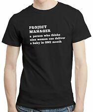 Project Manager Boss Girt Idea Work Office Design Quote T shirt Tshirt Tee Funny