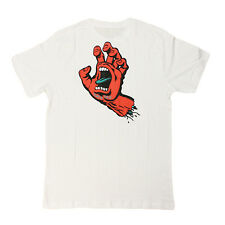 Santa Cruz - Screaming Hand Tee White