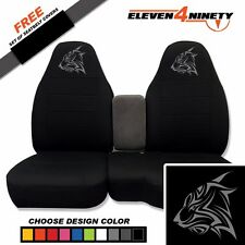 91-15 Ford Ranger Black 60-40 Seat Covers W Tribal Lynx Choose From 9 colors