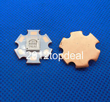 10W 7070 Ultra Violet UV 365nm /395nm High Power Led Emitter 20mm Copper Star
