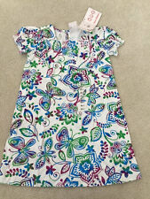 HANNA ANDERSSON~NWT GIRLS BUTTERFLY/FLORAL SPRING/SUMMER DRESS~sz. 4T/5-6/6X-7