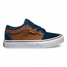 Vans - Chukka Low Youth Shoes Navy/Tobacco