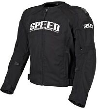 Speed and Strength Twist of Fate 3.0 Textile Jacket Black Motorcycle