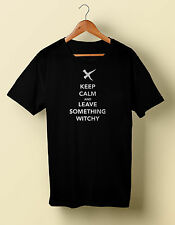 Keep Calm and Leave Something Wtichy t tee shirt Manson Family S M L X 2X