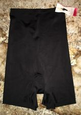 NEW Womens Sz M L XL SPANX Slimplicity BLACK Super Control Hi Waist Girl Shorts