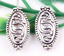 Wholesale 7/14/21Pcs Tibetan Silver(Lead-Free)Spacer Beads 17x9mm