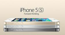 Apple iPhone 5s 16GB/64GB GSM Unlocked Space Gray/Silver/Gold (AT&T T-Mobile)