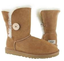 AUTHENTIC LADIES UGG BAILEY BUTTON BOOT! SHEARLING! Free Shipping! #986762-64