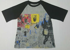Uniqlo Sprz NY Jean-Michel Basquiat MoMA T-Shirt XS-2XL (Gray/Black)