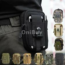 Outdoor Tactical Waist Fanny Pack Bag Camping Hiking Sports Travel Belt Pouch