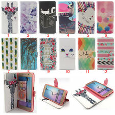 Magnetic Flip Stand Card Slot Leather wallet + TPU Case Cover For Samaung Galaxy