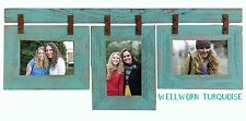 """NEW 1.5"""" BARN WOOD COLLAGE 3 MULTI PICTURE FRAME COUNTRY RUSTIC DECOR"""