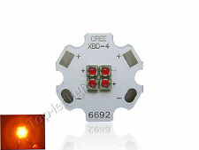 5xCREE XBD XB-D 12W 4 leds Red Yellow Green Blue Warm White LED Light Lamp Chip