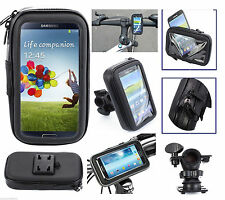 Bike Bicycle Motorcycle Waterproof Phone Case bag with Handlebar For iPhone