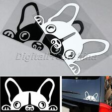 Lovely Cute Guardian Dog Reflective Vinyl Car Stickers For Car window Mirror Dec