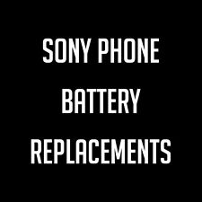 Sony Mobile Phone Battery Replacements & Upgrades