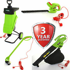 HEDGE TRIMMER LAWN STRIMMER GARDEN SHREDDER LEAF BLOWER/VACUUM GARDENING