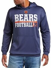 Chicago Bears NFL Majestic Mens 1 Handed Catch Hoodie Big & Tall Sizes
