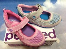 Pediped Flex Racer Water Safe V Mary Janes Size 24-36/US Kid Size 8-Youth 4