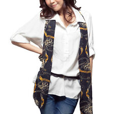 Button Closure Rolled up Half Sleeve Shirt Top for Women