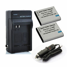 Battery Charger for Olympus Stylus Tough TG-850 iHS,TG-860,TG-870 Digital Camera