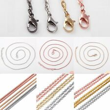 1 pc Hot Wholesale Silver/Gold/Rose Gold Beads Chain For Women Necklace Jewelry