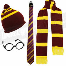 Mens Kids Potter Wizard Fancy Dress Glasses Hat Ladies Magic Hermione Ron