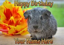 Guinea Pig Occasions Personalised Greeting Card Birthday Fathers Mum PIDFD45