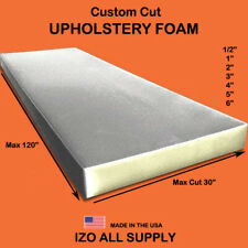 Custom Cut All Density Seat Foam Cushion Replacement Upholstery Foam Per Sheet