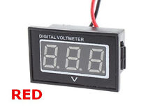 Mini Panel Digital DC Voltmeter LED RED Module 2.5V to 30V Volt Meter Car Auto