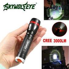 3 Modes 3000LM CREE XML T6 LED 18650 Flashlight Outdoor Torch Lamp Light Легкий