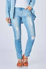 NEW Jump Womens Skinny Jeans Distressed Denim Jean Denim