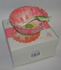 Fitz and Floyd Flourish DIP BOWL WITH SPOON - NEW in Original Box!