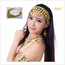 Belly Dance Bollywood Headband Headpiece Jewellery Belly Dance Accessory
