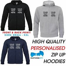 Custom Printed Hoodies Personalised Hen Stag Workwear Hoody - Mens Women Unisex