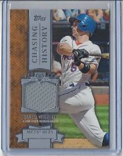2013 Topps Baseball #CHR-DW David Wright Chasing History Relic Jersey