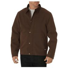 New Dickies® Sanded Duck Sherpa Lined Work Hunting Durable Jacket Mens Sz XL