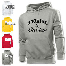 Cocaine and Caviar Crooks Design Mens Womens Hoodie Sweatshirt Top Pullover