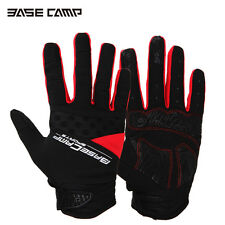 Cycling Bicycle Bike Full Finger Glove Antiskid Silicone Gel Touch Screen Gloves
